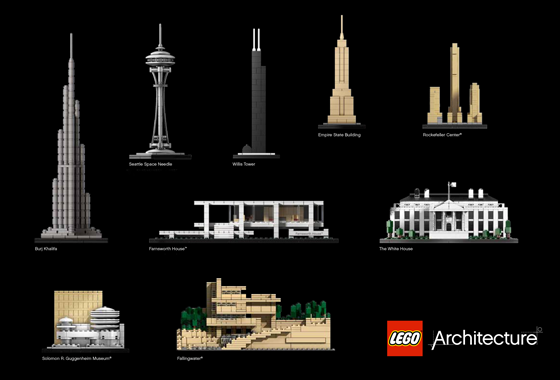 Collection-LEGO-Architecture