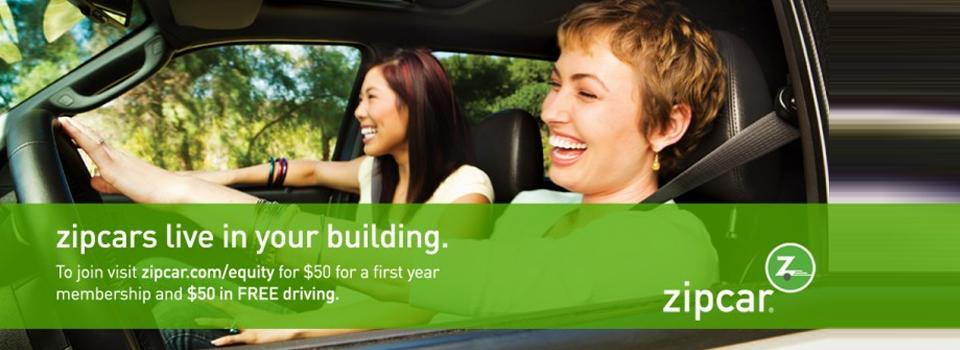 Zip Cars Living in Your Building