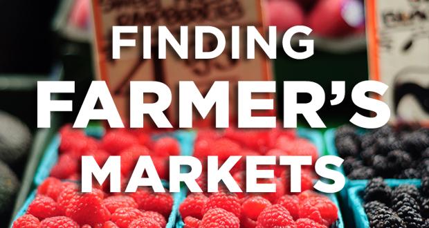 Finding Farmer's Markets