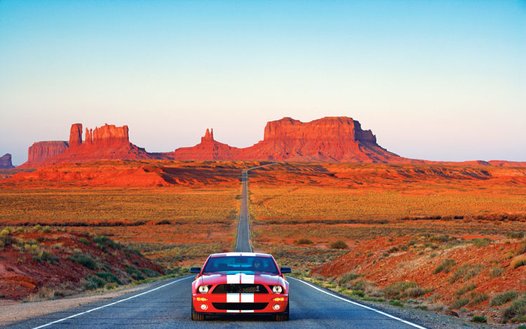 2007-ford-shelby-gt500-monument-valley